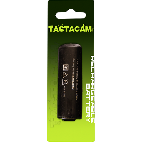 * Rechargeable Battery For Tactacam 3.0 & 4.0