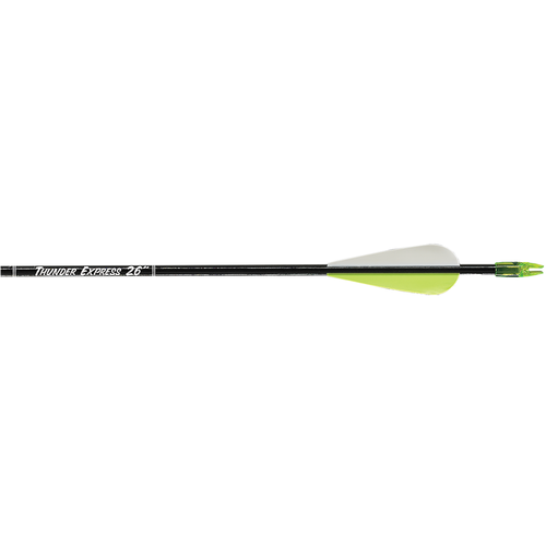 Carbon Express Thunder Express Arrows Black 26 in. 72 pk.