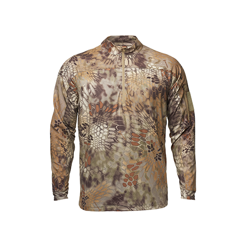 Valhalla Long Sleeve Zip Shirt Highlander Medium