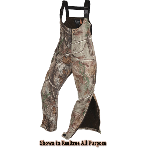 Womens Performance Fit Bibs Realtree Xtra Camo Large