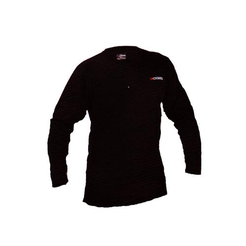 XSystem Lightweight Crew Neck Shirt Black Medium