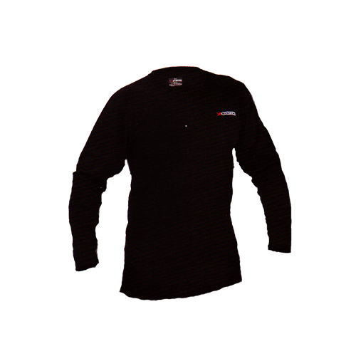 XSystem Lightweight Crew Neck Shirt Black XLarge