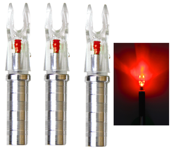Ignitor Lighted .204 Red Nock For X Nock Arrows