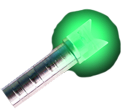 Ignitor Xbolt Lighted Green Nock Universal Fit