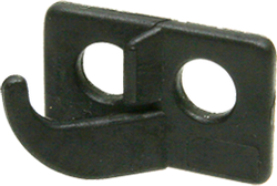 OMP 2 Hole Rest Black Right Hand
