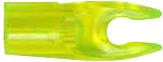 Recurve Pin Nock Small Groove Lemon/Lime