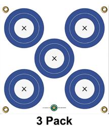 """Arrow Mat 5 Spot Target 17""""x17""""   *Sold in Eaches *"""