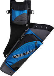 Easton Deluxe Takedown Hip Quiver w/Belt Blue RH