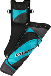 Easton Deluxe Takedown Hip Quiver w/Belt Teal RH