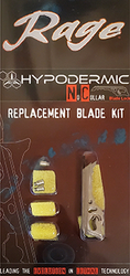 Rage Replacement Blade Kit Hypodermic NC