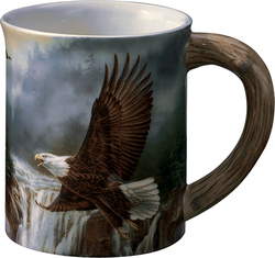 Wild Wings Sculpted Mug Majestic Bald Eagle
