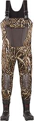 Category: Dropship Shoes & Boots, SKU #1001576, Title: Lacrosse Mallard II Waders Realtree Max-5 1000g 12
