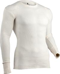 Indera Tradition Long Johns Long Sleeve Shirt Natural XL