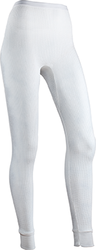 Indera Women's Traditional Thermal Bottom White Large