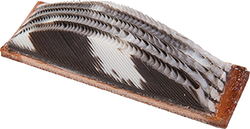 Wild Turkey Feather Arrow Rest LH