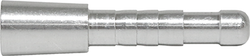 Easton 5mm Aluminum Half Out #2 12 pk.