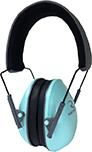 Radians Lowset Ear Muff Aqua