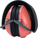 Radians Lowset Ear Muff Coral