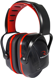Radians X-Caliber Youth Ear Muff Black and Red
