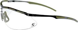Radians CSB101 Ballistic Rated Shooting Glasses Metal Amber