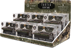 Category: Dropship Eyewear, SKU #1002857, Title: Taktix Hunting Sunglasses Display 2 Tier Tray 12pc