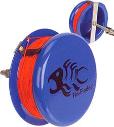 Fin Finder Heavy Duty Drum Reel Blue