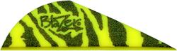 "Blazer Vanes 2"" Yellow Tiger"