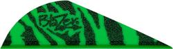 "Blazer Vanes 2"" Green Tiger"