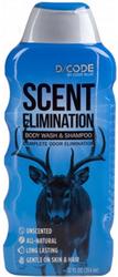 D/Code Body Wash & Shampoo Unscented 12oz