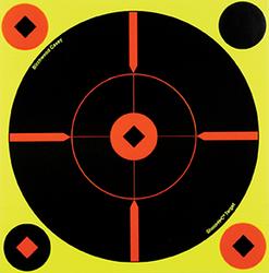 Birchwood Casey Shoot-N-CTarget 8in Crosshair Bullseye 6pk