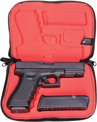 GPS Pistol Compression Molded Case Black fits Most 1911's