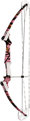 Genesis Bow Only Right Hand Pink OT Camo