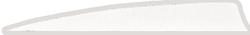 Gateway Shield Cut Feathers White 5 in. LW 50 pk.