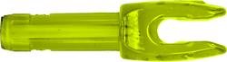 Easton 4mm Microlite Nocks Lemon Lime 12pk