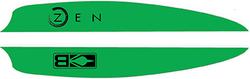 Bohning Zen Vanes Neon Green 4 in. 100 pk.