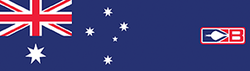 Bohning Arrow Wrap Austrailian Flag 7in. Std 13 pk