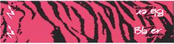 Bohning Arrow Wrap Pink Tiger 7in. Std 13 pk