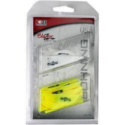 Bohning Blazer Vane Combo White/Neon Yellow 36 pk.