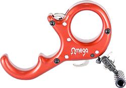 B3 Omega Release Aluminum Red 3 Finger