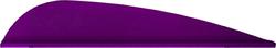 AAE Trad Vane Purple 3 in. 50 pk