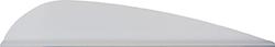 AAE Trad Vane White 3 in. 50 pk