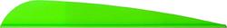 AAE Trad Vane Bright Green 4 in. 50 pk