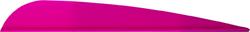 AAE Trad Vane Hot Pink 4 in. 50 pk