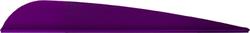 AAE Trad Vane Purple 4 in. 50 pk