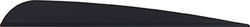 AAE Trad Vane Black 5 in. 50 pk