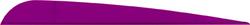 AAE Trad Vane Purple 5 in. 50 pk