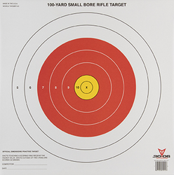 3006 Small Bore Rifle Target 20pk.