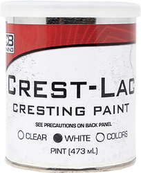 * Bohning Crest-Lac Paint White Pint