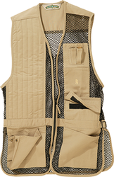 Bob Allen Full Mesh Shooting Vest Khaki X-Large
