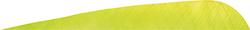 Gateway Parabolic Feathers Lemon Lime 4 in. LW 50 pk